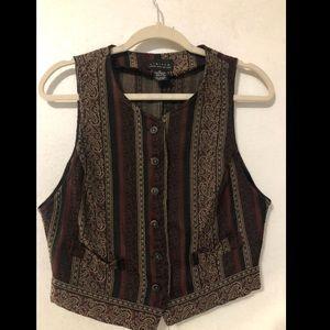 Halter Striped Vest by Limited